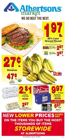 Albertsons Weekly Ad Deals July 19 - 25 2017