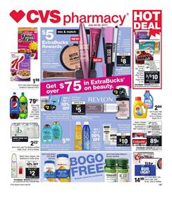 CVS Weekly Ad Grocery July 23 - 29 2017