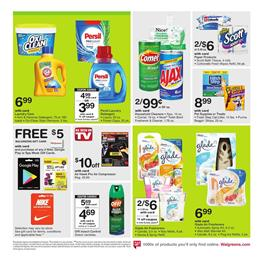 Cleaning Supplies Walgreens Ad July 16 22 2017