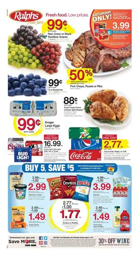Ralphs Weekly Ad Deals July 26 - Aug 1 2017