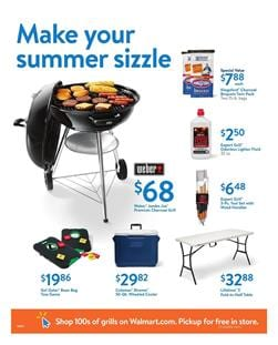 Walmart Ad Outdoor Products July 15 2017