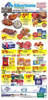 Albertsons Weekly Ad Deals Aug 30 - Sep 5 2017