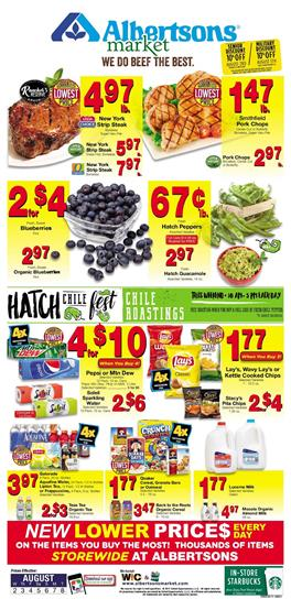 Albertsons Weekly Ad Deals August 2 - 8 2017