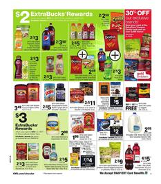 CVS Weekly Ad Snacks Aug 27 - Sep 2 2017
