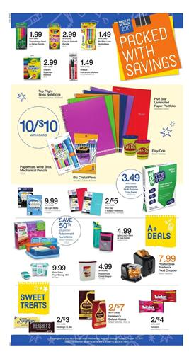 Kroger Ad Back To School Aug 2 - 8 2017