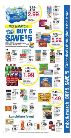 Kroger Ad Mix and Match Aug 23 - 29 2017