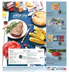 Publix Weekly Ad Labor Day Aug 30 - Sep 5 2017