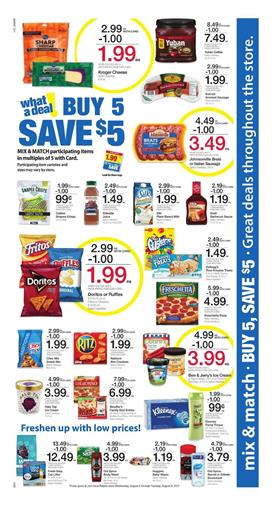 Ralphs Ad Mix and Match Sale Aug 2 - 8 2017