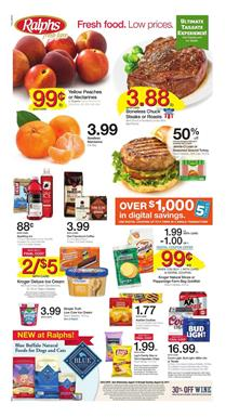 Ralphs Weekly Ad Grocery Aug 16 - 22 2017