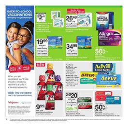 Walgreens Weekly Ad Pharmacy Aug 6 - 12 2017