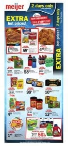 Meijer 2 Day Sale Ad Sep 15 - 16 2017 1