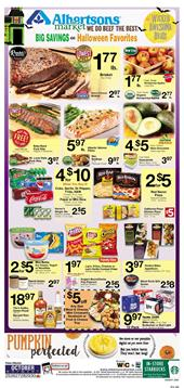 Albertsons Ad Grocery Sales Oct 25 - 31, 2017
