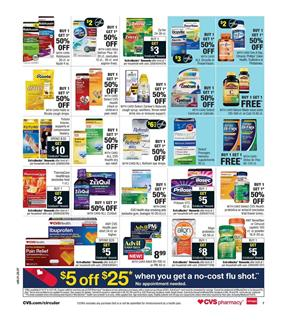 CVS Weekly Ad Pharmacy October 15 - 21, 2017