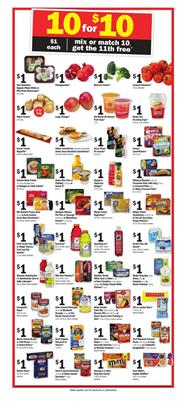 Meijer Ad Mix or Match Sale Oct 29 - Nov 4, 2017