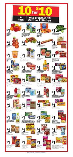 Meijer Ad Mix or Match Sale October 8 - 14 2017