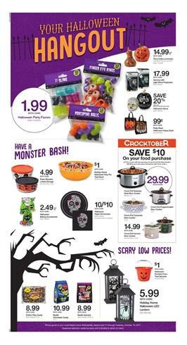 Ralphs Weekly Ad Halloween Gifts Oct 4 -10 2017