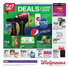 Walgreens Ad Pharmacy Deals October 8 - 14 2017