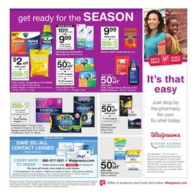 Walgreens Ad Pharmacy Products Oct 15 - 21, 2017