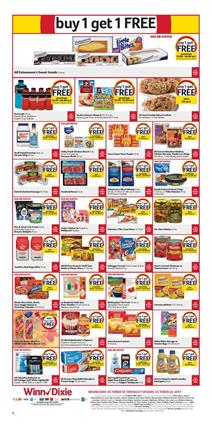 Winn Dixie Ad BOGO Deals October 18 - 24, 2017