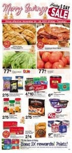 Albertsons Weekly Ad Holiday Nov 24 - 28, 2017