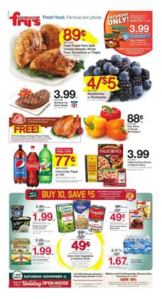 Fry's Weekly Ad Deals November 8 - 14, 2017