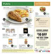 Publix Weekly Ad Deals Nov 1 - 7, 2017