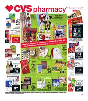 CVS Weekly Ad Christmas Dec 17 - 23, 2017