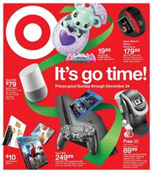 Target Weekly Ad Christmas Gifts December 17 - 23 2017