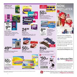 Walgreens Weekly Ad Pharmacy December 10 - 16, 2017