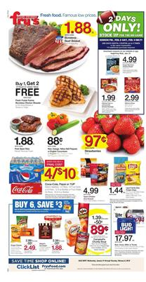 Fry's Weekly Ad Deals Jan 31 - Feb 6, 2018