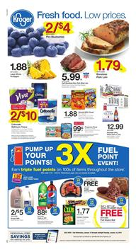 Kroger Weekly Ad Deals January 10 - 16 January 2018