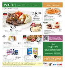 Publix Weekly Ad Deals January 10 - 16, 2018