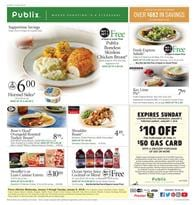 Publix Weekly Ad Deals January 3 - 9, 2018