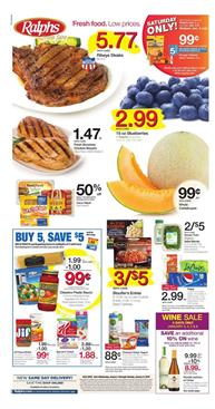Ralphs Weekly Ad Deals January 3 - 9, 2018