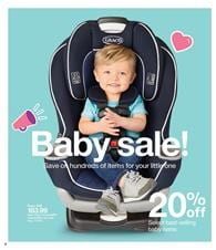 Target Weekly Ad Baby Products January 21 - 27, 2018