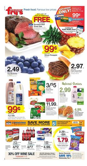 Frys Weekly Ad Deals February 7 13 2018
