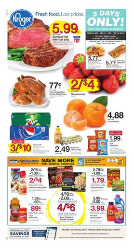 Kroger Weekly Ad Deals February 14 20 2018
