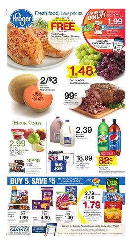 Kroger Weekly Ad Deals February 21 27 2018