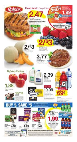 Ralphs Weekly Ad Deals February 21 27 2018