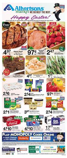 Albertsons Weekly Ad Deals Mar 28 Apr 3 2018