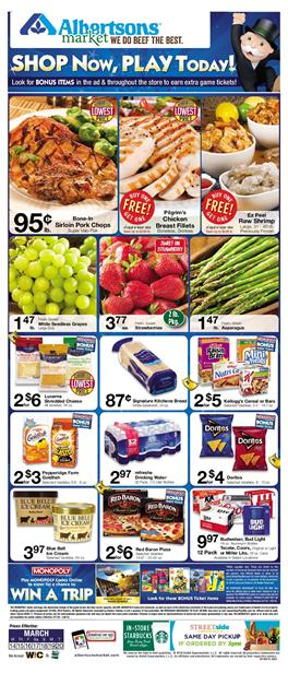 Albertsons Weekly Ad Deals March 14 20 2018