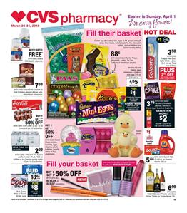 CVS Weekly Ad Easter Sale March 25 31 2018