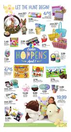 Kroger Ad Easter Sale March 21 27 2018