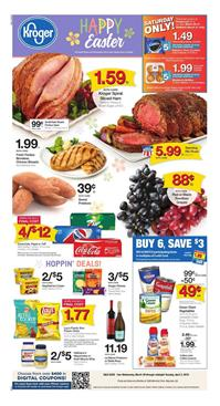 Kroger Weekly Ad Easter Mar 28 Apr 3 2018