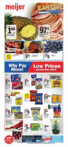 Meijer Ad Easter Sale March 25 31 2018