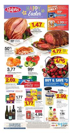 Ralphs Weekly Ad Easter Mar 28 Apr 3 2018