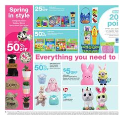 Walgreens Ad Easter March 11 17 2018