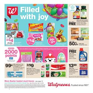 Walgreens Weekly Ad Deals March 25 31 2018