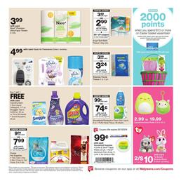Walgreens Weekly Ad Laundry Care BOGO Free Sale