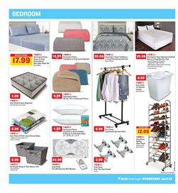 ALDI Weekly Ad Bedroom Products April 25 May 1 2018